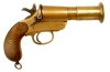 Deactivated WWI British Webley & Scott MKIII* Brass Flare Pistol