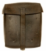 WWII Nazi MG34 machine gunners leather spares satchel.