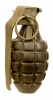 Inert US Pineapple Grenade - Vietnam War Era