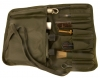 British military SA80 Cleaning Kit in canvas pouch