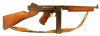 Deactivated WWII US Thompson M1 submachine gun.