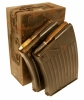 WWII German 20mm Flak 30/38 Magazines with a transit box
