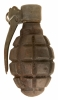 Inert WWI French F1 Grenade
