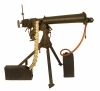Deactivated WWII Vickers Machine Gun with accessories