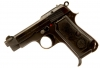 Deactivated Beretta Model 1935 Police Issue