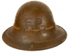WWII Sussex Issued Zuckerman Helmet