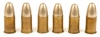 Inert original WWII Officers .455 Webley MK6 revolver rounds.
