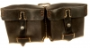 WWII German G43 or K43 rifle spare magazine pouches.