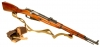 Deactivated WWII Mosin Nagant Carbine model M38 (model of 1938)