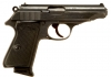 Deactivated WWII Nazi Walther PP Pistol Military Issued