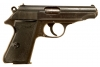 Deactivated WWII German Walther PP - forth variant