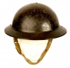 WWII British Bakelite Munition's Workers Helmet