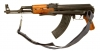 Deactivated Type 56 AK47 Assault Rifle