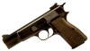 Due in Deactivated Browning High Power 9mm pistol