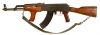 Deactivated Kalashnikov AK47 dated 1973 (Vietnam era) with matching numbers.