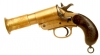 Deactivated First World War Webley & Scott MKIII* flare pistol