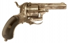 Antique Obsolete New English Pattern Pinfire Revolver