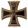 WWI German First Class Iron Cross