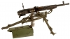 Deactivated Rare WWII Nazi ZB37 (MG37t) Heavy Machine Gun with Lafette Tripod