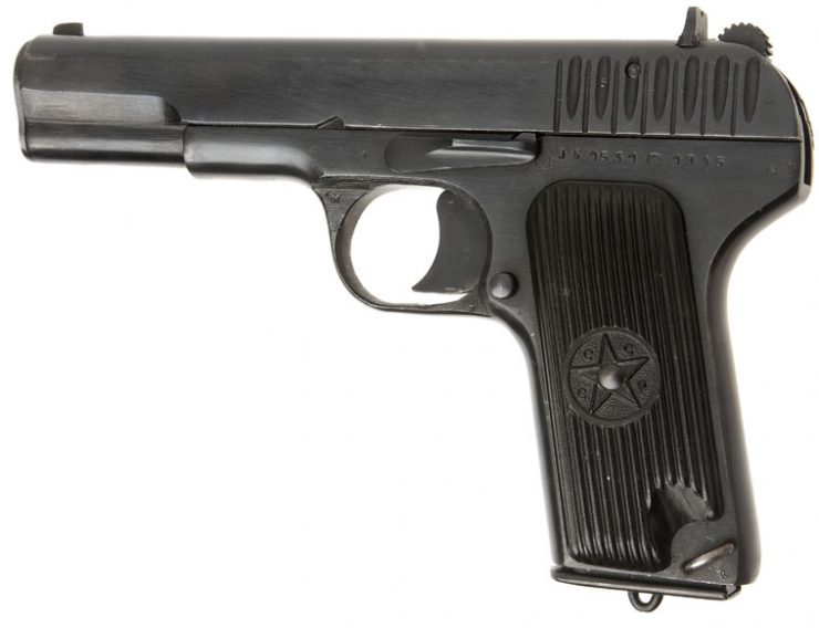 Russian Hand Guns http://www.deactivated-guns.co.uk/deactivated-guns/allied-deactivated-guns/deactivated-russian-1945-dated-tokarev-pistol/prod_135.html