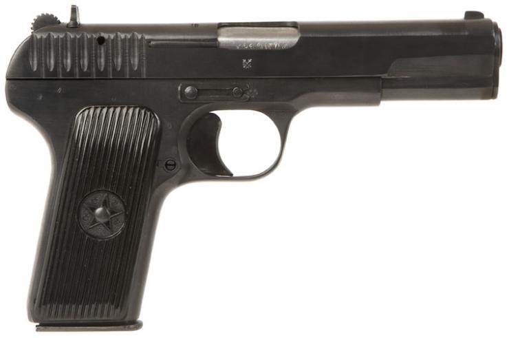 Early Russian Tokarev Tt33 Pistol Allied Deactivated