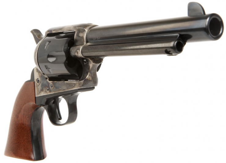 a brand new uberti cattleman revolver allied deactivated guns