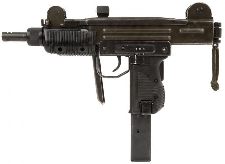 uzi machine gun
