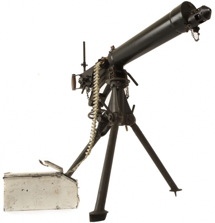 WWII Vickers Machine Gun with Tripod & More - Allied ...