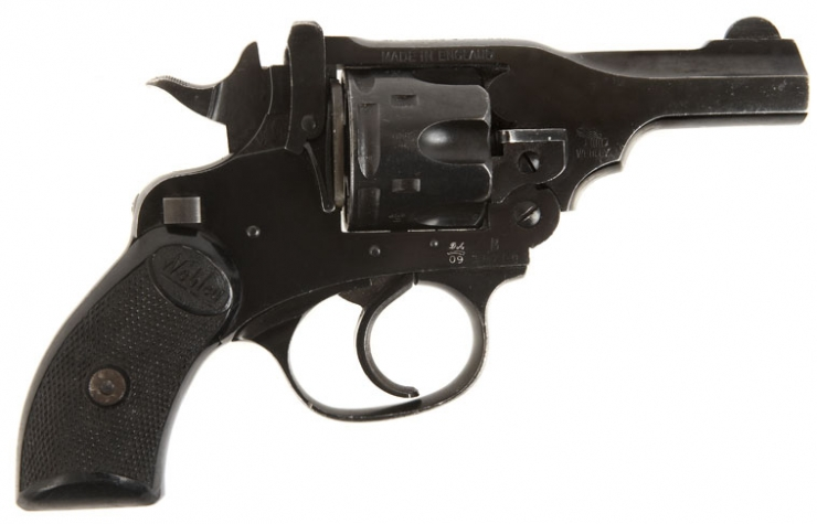 Deactivated Webley & Scott MKIV .38 Revolver. Image Gallery: