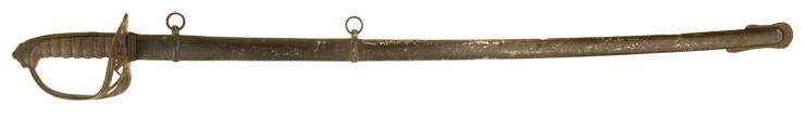 J Hodgson Victorian Royal Engineers Sword & Scabbard