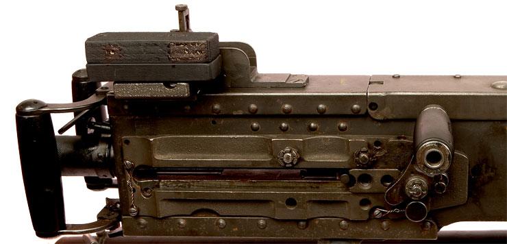 Deactivated Browning 50 Cal Machine Gun Ac Spark Plug