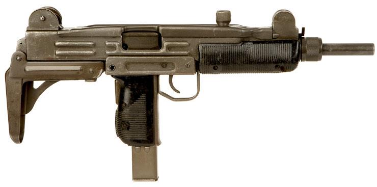 Silenced Uzi 9mm Uzi 9mm Submachine Gun