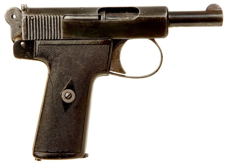 Victorian Auto Sales >> Deactivated Webley & Scott 7.65mm .32 Automatic Pistol. - Allied Deactivated Guns - Deactivated Guns