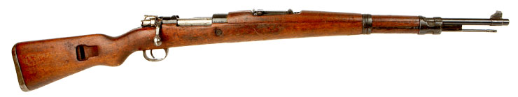 Deactivated Yugoslavian Mauser K98 - Axis Deactivated Guns