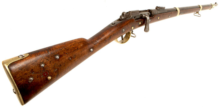 1866 Chassepot Rifle http://www.deactivated-guns.co.uk/deactivated-guns/allied-deactivated-guns/deactivated-chassepot-rifle/prod_2022.html