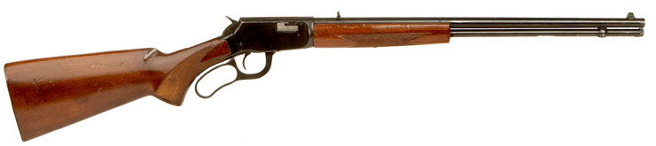 Deactivated Winchester Type Underlever Rifle