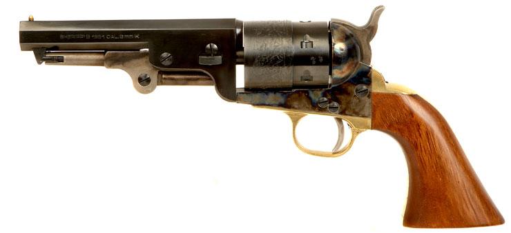 Pietta 1851 Navy Sheriff's Blank firer Revolver - Live Firearms and