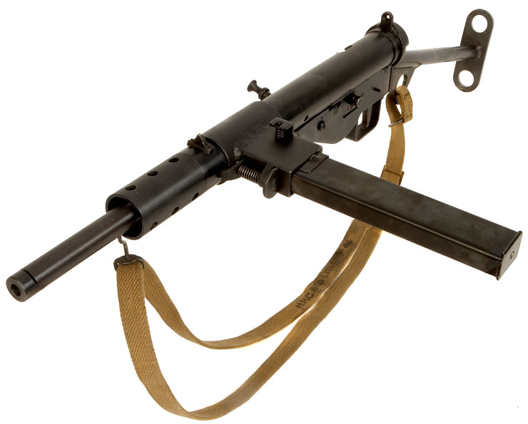 Stunning Condition Blank Firing Sten MK2 - Live Firearms and